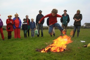 beltane fire jumping 4