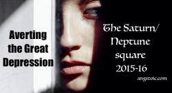 Saturn - neptune square